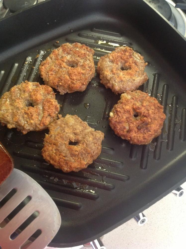 Donut-shaped Chickpea Meat Patties (Shami Arde Nokhodchi) (6/6)