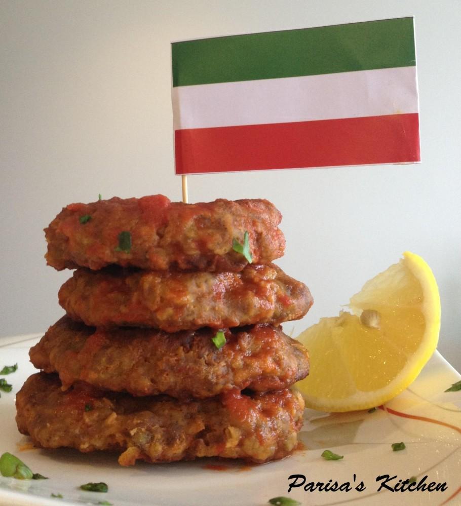 Donut-shaped Chickpea Meat Patties (Shami Arde Nokhodchi) (1/6)
