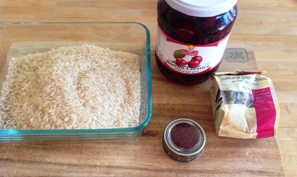 Saffron Rice with Morello Cherries (Albaloo Polo) (2/6)