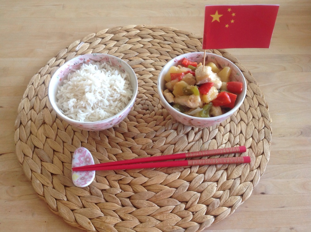 Chinese Sweet and Sour Chicken (1/6)