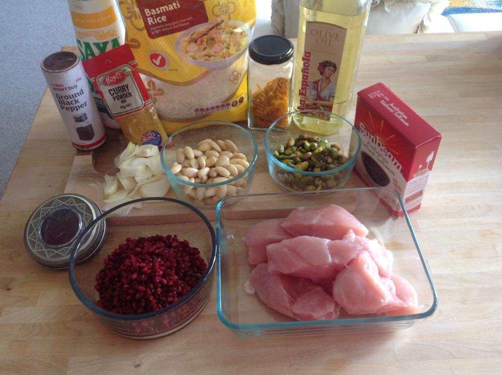 Jeweled Rice (Morasa Polow) (3/6)