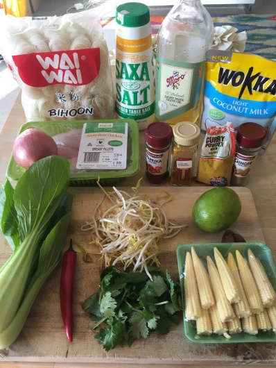 Laksa Ingredients